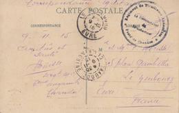 Cpa LAOS Orchestre De Khas Lové Decoly + Cachet Régiment Tirailleurs Annamites Poste De Chaudoc Indochine Vietnam - Lettres & Documents