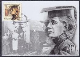 Serbia 2015 British Heroines Of The First World War In Serbia, Doctor Elizabeth Ross, CM - Serbia