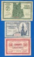 Amiens  3  Billets - Cámara De Comercio