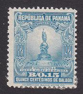 Panama, Scott #228, Mint Hinged, Statue Of Balboa, Issued 1921 - Panama