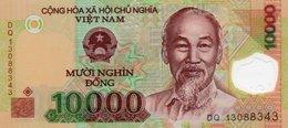 VIETNAM 10000 DONG 2005 P-119 UNC POLYMER - Vietnam