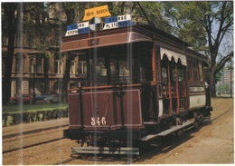 "Tematica - Tram - Bruxelles - Mixed Tramcar N° 346 ""California"" - Not Used - Tramways"