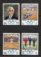 EMIRATO DE FUJEIRA AN 1970 OLYMPIADES 75TH ANNIVERSAIRE PIERRE DE COUBERTIN ET AUTRES COMPLETE SET OBLITERE - Fudschaira
