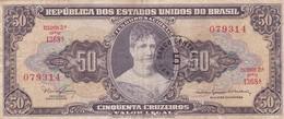 CINQUENTA CRUZEIROS, CINCO CENTAVOS- PRINCESA ISABEL. BRASIL. CIRCA 1967-BILLETE BANKNOTE BILLET-BLEUP - Brazil