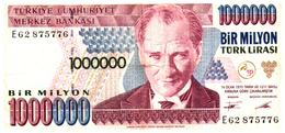 Billets > Turquie1000000Turklirasi - Turquie
