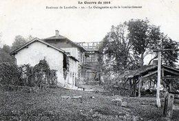 Luneville 54 Les Environs La Guinguette Apres Le Bombardement - Dieulouard