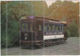 "Tematica - Tram - Bruxelles - ""Tram Chocolat"", Voiture Fermée 410 - Not Used - Tramways"