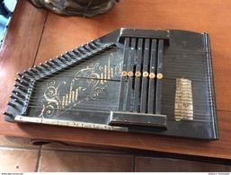 Rare Cithare Suhr Zither - Instruments De Musique