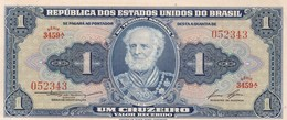 UM CRUZEIRO, MARQUES DE TAMANDARE. BRASIL. CIRCA 1950s-BILLETE BANKNOTE BILLET-BLEUP - Brazil