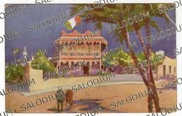 TRIPOLI - Palazzina Degli Ufficiali - Illustrata Illustratore P Rocco - Libia Aoi - AFRICA Guerra Mondiale Ww2 2gm - Libia