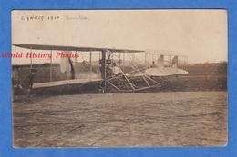 CPA Photo - CANNES - Superbe Avion & Aviateur à Identifier - 1910 - Hydravion ? Modèle à Identifier - Aviation - ....-1914: Précurseurs