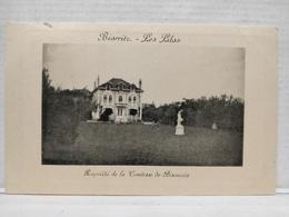Biarritz. Les Lilas. Propriété De La Comtesse De Biscuccia - Biarritz