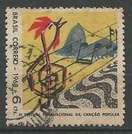 LSJP BRAZIL Sugar Cane Popular Song International Festival 1968 - Gebruikt