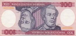CEM CRUZEIROS DUQUE DE CAXIAS. BRASIL. CIRCA 1980s-BILLETE BANKNOTE BILLET NOTA-BLEUP - Brazil
