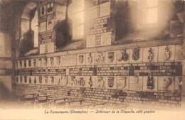 CHAMPLON - La Converserie - Intérieur De La Chapelle, Côté Gauche - Tenneville
