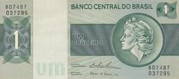 UM CRUZEIRO. BRASIL. CIRCA 1980s-BILLETE BANKNOTE BILLET NOTA-BLEUP - Brasil