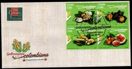 COLOMBIA- KOLUMBIEN- 2018 FDC/SPD. COLOMBIAN GASTRONOMY. HIGH FACIAL VALUE - Colombia