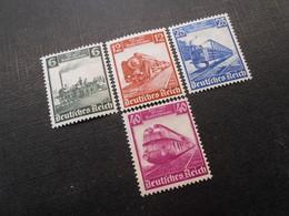 D.R.Mi 580-583 - Satz*MLH - 1935 - Mi 20,00 € - Germany