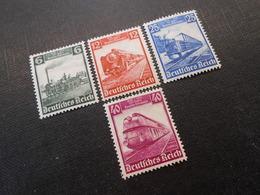 D.R.Mi 580-583 - Satz*MLH - 1935 - Mi 20,00 € - Unused Stamps