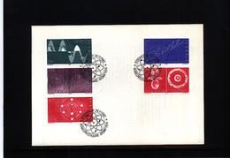 Sweden 1982 Nobel Prize Laureats - Atom Physics FDC - Nobel Prize Laureates