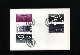 Sweden 1983 Nobel Prize Laureats - Chemistry FDC - Nobel Prize Laureates