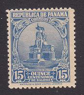 Panama, Scott #252, Mint Hinged, Statue Of Bolivar, Issued 1926 - Panama