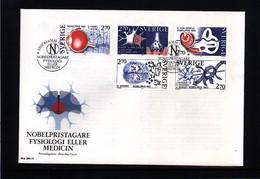 Sweden 1984 Nobel Prize Laureats - Medicine FDC - Nobel Prize Laureates