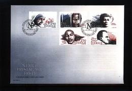 Sweden 1986 Nobel Prize Laureats - Peace FDC - Nobel Prize Laureates