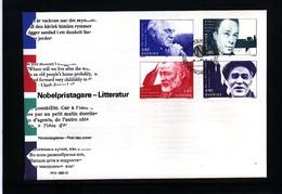 Sweden 1990 Nobel Prize Laureats - Literature FDC - Nobel Prize Laureates