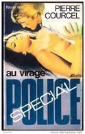 FN. Spé. Pol. 1283 -  Au Virage - Pierre Courcel  - ( EO 1976 ) . - Fleuve Noir