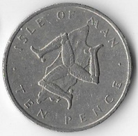 Isle Of Man 1976 10p (B) [C743/2D] - Regional Coins