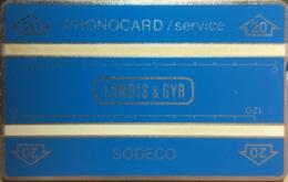 SERVICE : Service '20' In Arrow Blue 2x120u 002F MINT - Service & Tests