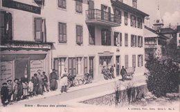 Bière, Bureau Des Postes, Vélos Et Facteurs (7.2.07) - VD Vaud