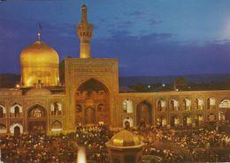 IRAN - 1975 - Cartolina Viaggiata  Riproducente Una Moschea Di Mashhad, Affrancata Con Yvert 1635. - Iran