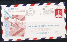 SPACE - USA - 1972 - COPERNICUS STARGAZER ILLUSTRATED   COVER WITH  KENNEDY  AUG 21 1972   POSTMARK - Covers & Documents