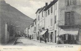 Le Pouzin (Ardèche) - La Rotonde - Edition Brun & Cie - Carte Dos Simple N° 4 Non Circulée - Le Pouzin