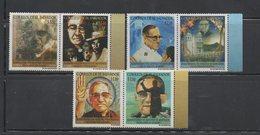 El Salvador 2010 MNH Full Set In Pairs Monseñor Romero - El Salvador