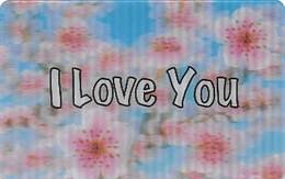 I Love You - Generic Venticular 3-D Card - Gift Cards