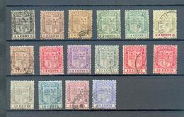 D 148 - MAURICE - YT 155 à 163 - 165 à 171  ° Obli - Maurice (...-1967)