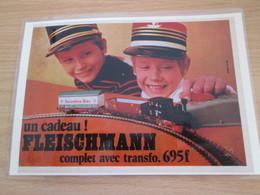 TRAIN ELECTRIQUE FLEISCHMANN -  Pour  Collectionneurs ... PUBLICITE  Page De Revue Des Années 70 Plas - Books And Magazines