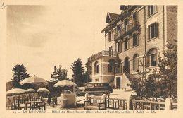 La Louvesc (Ardèche) - Hôtel Du Mont Besset, Renault Primaquatre - Carte LL N° 14 Non Circulée - La Louvesc