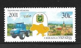 UKRAINE 2001 REGIONS UKRAINIENNES  YVERT N°434  NEUF MNH** - Ukraine
