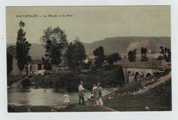 "CPA - Matafelon ""Le Moulin Et Le Pont"" - Francia"