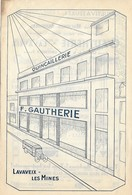 Publicité - Quincaillerie GAUTHERIE à LAVAVEIX-les-MINES - Creuse (23) -  - Pas Carte Postale - - Francia