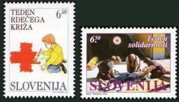 Slovenia 1995 - Red Cross -  MNH Michel Z9-Z10 - Slovenia