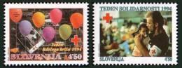Slovenia 1994 - Red Cross -  MNH Michel Z7-Z8 - Slovenia