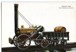 Locomotive Rocket 1829 Robert Stephenson Newcastle   CPM Ou CPSM - Altri