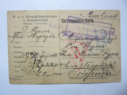 WWI  POW  Russia / Latvia / Austria Letter With PETROGRAD WAR CENSOR Nr 190 - 1857-1916 Empire