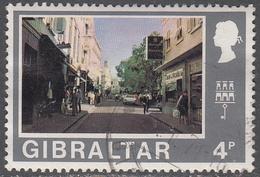 GIBRALTAR      SCOTT NO. 253     USED      YEAR  1971 - Gibraltar
