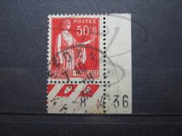 """VEND TIMBRE DE FRANCE N° 283 + BDF + CD , CACHET """" SEDAN """" !!! - 1932-39 Paix"""